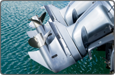 custom parts for the marine, boating, boat motor industries